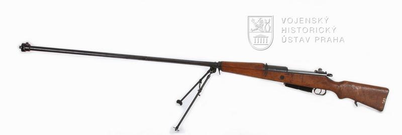 Polská protitanková puška Maroszek wz. 35 (Karabin przeciwpancerny wz. 35)