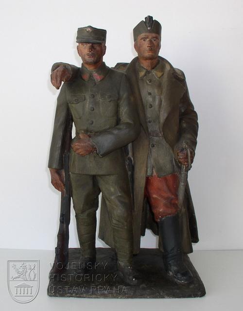 Otto Gutfreund, Ruští legionáři, 1924–1926