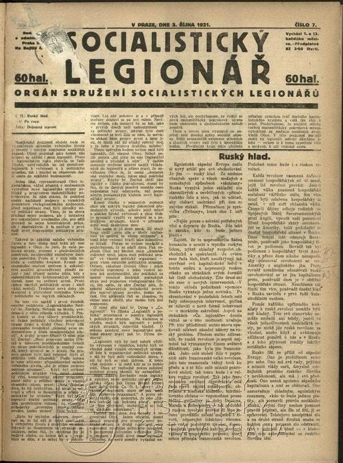 Socialistický legionář