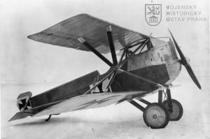 Žebro letounu Hansa-Brandenburg D.I (KD)