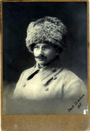 Antonín Abraham jako legionář