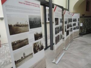 Výstava 1917 - zlomový rok československého odboje, autor Petr Matějček