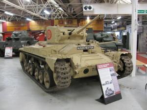 Střední tank Valentine používali v oblasti Tobrúku i českoslovenští vojáci