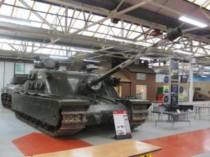 Britský supertěžký tank A39 Tortoise vznikl v malé sérii a nebyl nikdy nasazen do boje
