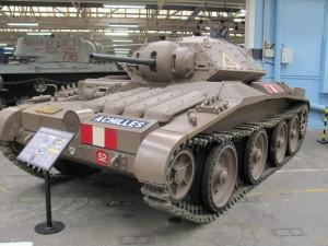 Jediný dochovaný střední tank Covenanter, s nímž se v Británii setkali i českoslovenští vojáci