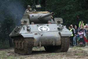 Bojová ukázka US Army vs. Německo - stíhač tanků Jackson