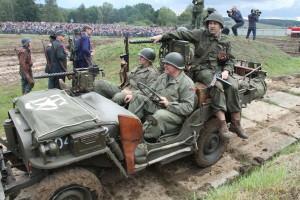 Bojová ukázka US Army vs. Německo