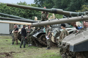 Tankový den ve VTM Lešany 2017