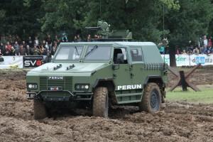 Vozidlo Perun z SVOS Přelouč
