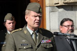 Náčelník GŠ AČR generál Josef Bečvář