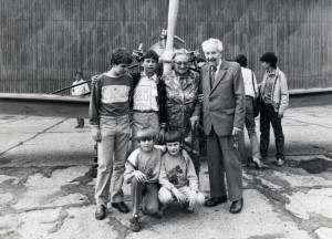 Ing. Jaroslav Šlechta ve Kbelích, květen 1987