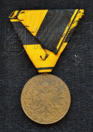 Čestná medaile za 25 členství v domobraneckých sborech