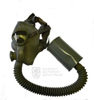 Americká vojenská ochranná maska M3, 2. světová válka