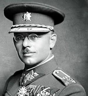 Generál Luža v době, kdy v Praze velel Válečné škole