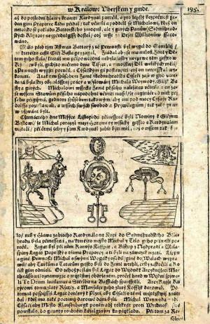 Vložený list z Paprockého Diadochu.