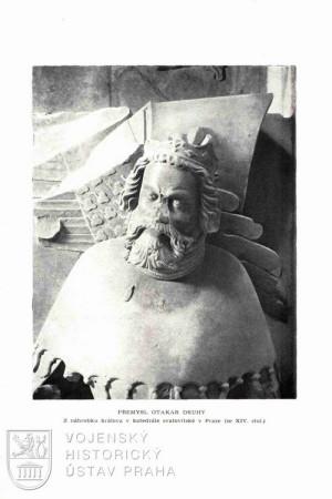 Fotografie náhrobku Přemysla Otakara II.