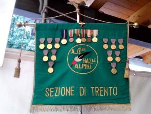 Vexillum Národní asociace Alpinů, sekce Trento