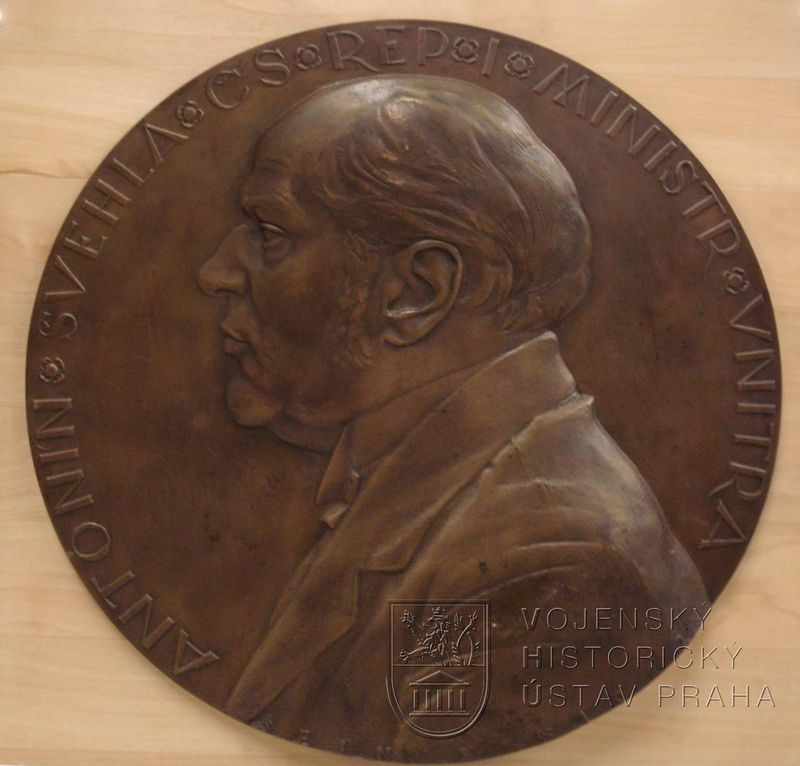 Josef Šejnost, Antonín Švehla, 1920