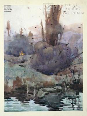 Kamil Cipra, Chestres, 24. 10. 1918