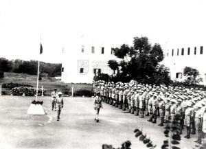 Oslavy 28. října 1942 v Haifě - příslušníci československého protiletadlového pluku