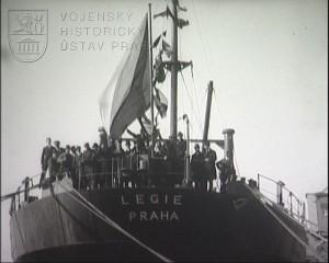 Film Křest lodi Legie