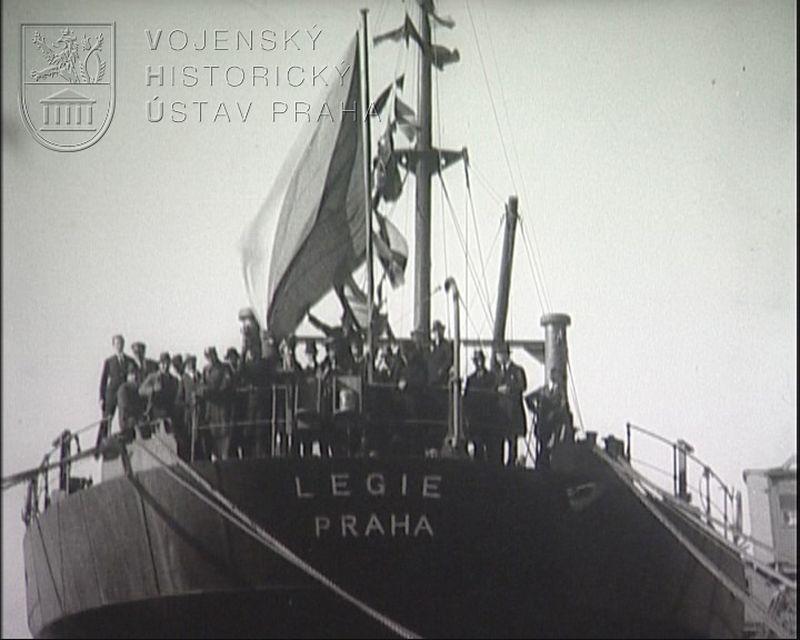 "Film ""Křest lodi Legie"""