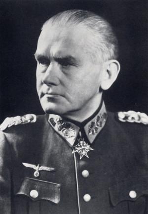 Generál polní maršál Werner von Blomberg, říšský ministr války. FOTO: VHÚ Praha