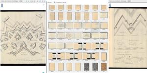 Ukázka ze zveřejněných a nově přístupných rukopisů - takto vypadá kniha při prohlížení na počítači