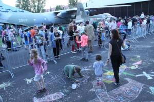 Pražská muzejní noc 2017 v Leteckém muzeu Kbely