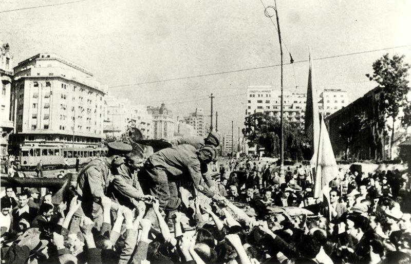 Obsazení Bukurešti Rudou armádou