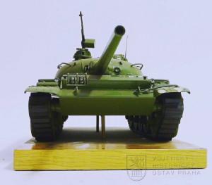 Model sovětského tanku T-55