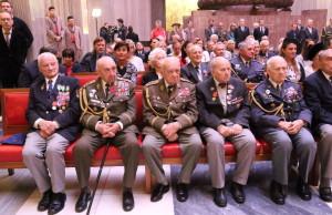 Dne válečných veteránů se účastnili i odbojáři z druhé světové války