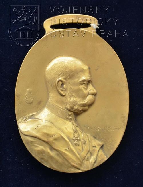 Zlatá čestná medaile 8. dělostřeleckého pluku