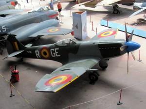 Spitfire Mk XIVe s kapkovitým překrytem kabiny. FOTO: Ivo Pejčoch