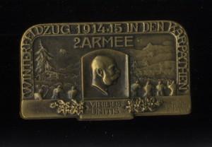 Zimní tažení v Karpatech 1914–1915, 2. armáda.  FOTO: VHÚ