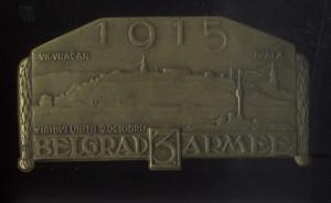 Bělehrad 1915 – 3. armáda.  FOTO: VHÚ