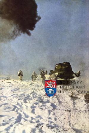 Útok střeleckého družstva za podpory tanků