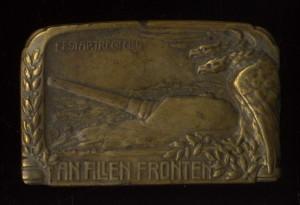 Odznak 4. pluku pevnostního dělostřelectva. FOTO: VHÚ