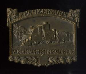 Obrněný vlak – Vánoce v poli 1916.  FOTO: VHÚ