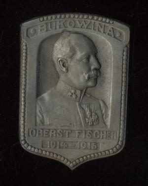Plukovník Eduard Fischer, Bukovina.  FOTO: VHÚ