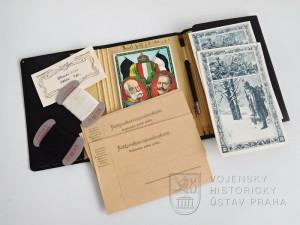 Cestovní sada rozdávaná vojákům o Vánocích 1915