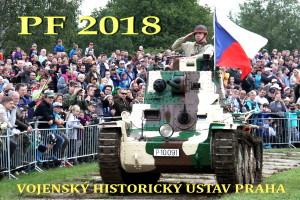 Vše nejlepší v roce 2018 přeje Vojenský historický ústav Praha. Na snímku československý tank LT-38 ze sbírek VHÚ.
