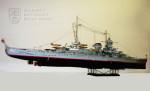 Model německého bitevního křižníku Scharnhorst