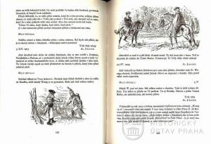 Text dopisů mezi Mikolášem Alšem a Aloisem Jiráskem z let 1903-1904 doplněný o ilustrace Mikoláše Alše k povídce Mudrcové a Dva Krasikovští.