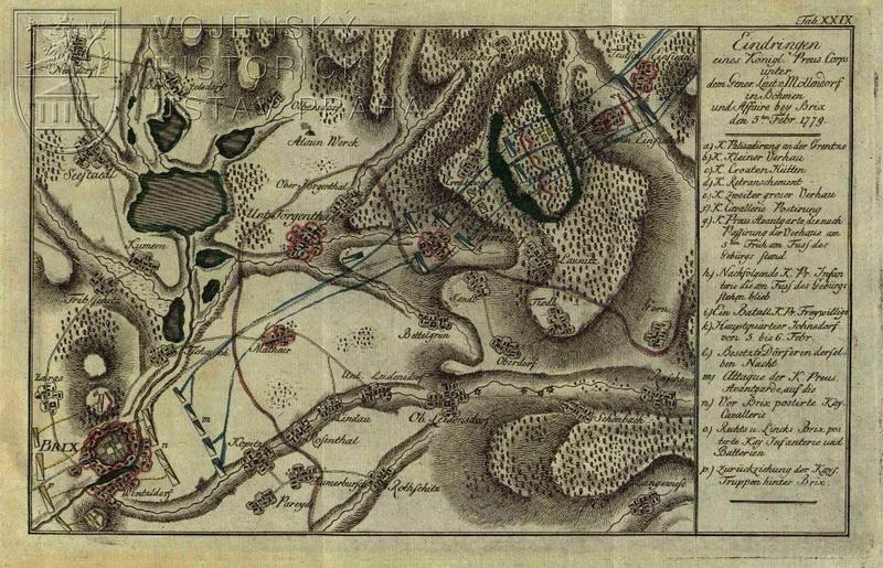 Schauplatz des Baierischen Erbfolgskrieges