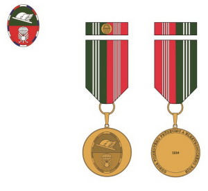 Pamětní odznak ředitele Odboru vojskového průzkumu a elektronického boje.