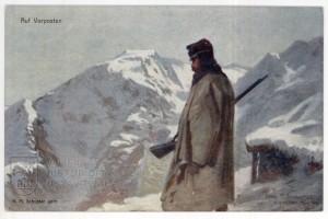 V přední linii, Rakousko-Uhersko, 1915