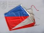 Vlajka České republiky ze základny Feyzabad, operace ISAF Afghánistán