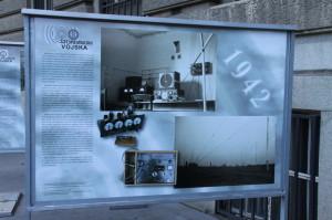 Výstava ke 100. výročí spojovacího vojska