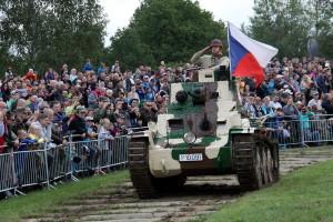 Tankový den 2017 v Lešanech
